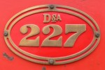 Dsa227 Side Tank Badge