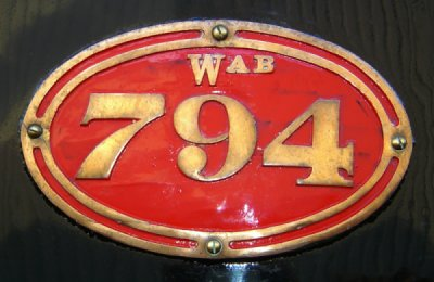 Wab794 Side Tank Badge